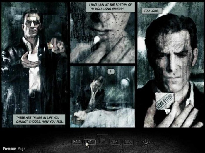 Max Payne 2 graphic novel