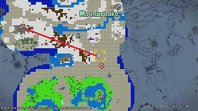 Moonbrooke cave map