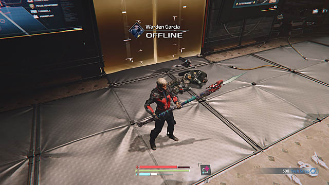 Warden Garcia defeated in The Surge 2.